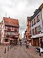 La Grand'Rue à Colmar un journée d'orage.jpg
