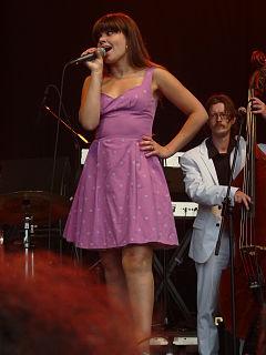 Lady Linn Belgian jazz singer