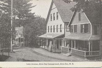 Alton Bay, New Hampshire - Lake Avenue, Alton Bay Campground
