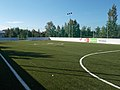 Lake Bager, football field, 2017 Mosonmagyaróvár.jpg