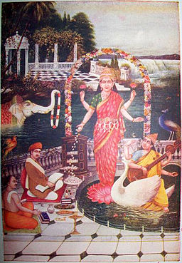 Lakshmi is worshipped by Brahmins