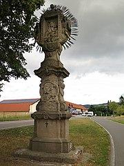 Sousoší reliéfů Panny Marie Pomocné a Panny Marie Čenstochovské