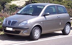 Lancia Ypsilon I przed liftingiem