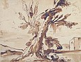 Landscape with Two Men Under a Tree. MET 1992.303.jpg