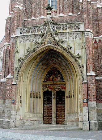 St. Martin's Church, Landshut - Image: Landshut St Martin Western Portal