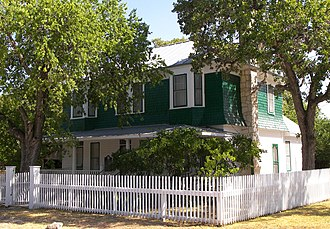 National Register of Historic Places listings in Bandera County, Texas - Image: Langford house bandera 2009