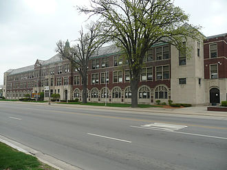 Eastern High School (Michigan) - Image: Lansing Eastern High