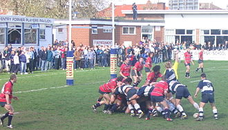 Coventry R.F.C. - Coventry playing their last ever match at Coundon Road in April 2004.