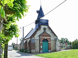 The church in Le Gallet