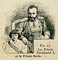 Le Prince Ferdinand I, et le Prince Boris - Beauregard J - 1896.jpg