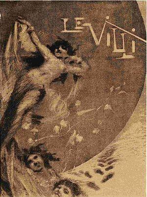 Le Villi - Original 1884 advertisement in Gazzetta Musicale di Milano