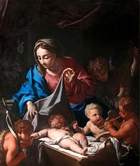 Le sommeil de l'enfant Jésus - FRANCESCO TREVISANI.JPG