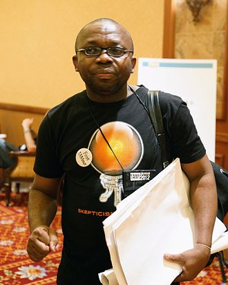 """Leo Igwe - """"From Witch-burning to God-men: Supporting Skepticism Around the World"""" at The Amaz!ng Meeting, July 12, 2012, in Las Vegas, NV"""