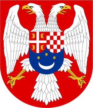 Coat of arms of Slovenia - Image: Lesser Coat of Arms of the Kingdom of Yugoslavia