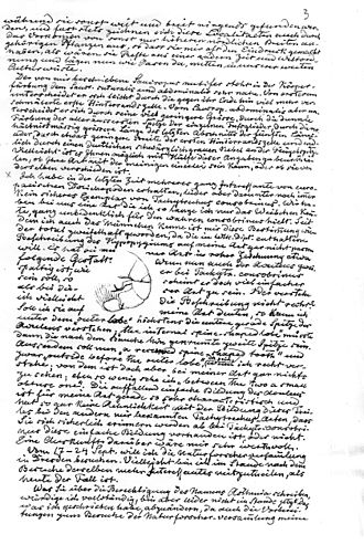 Hermann Loew - Letter from Hermann Loew to A.H.Haliday