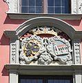 Leutkirch - Rathaus, Wappen.JPG