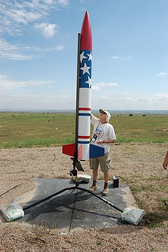 National Association of Rocketry - Final launch preparation for a Level 3 high power rocket