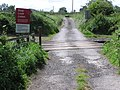Level Crossing , Bog Hall Lane. - geograph.org.uk - 189684.jpg