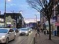 Leytonstone High Road Christmas lights, London, England 02.jpg