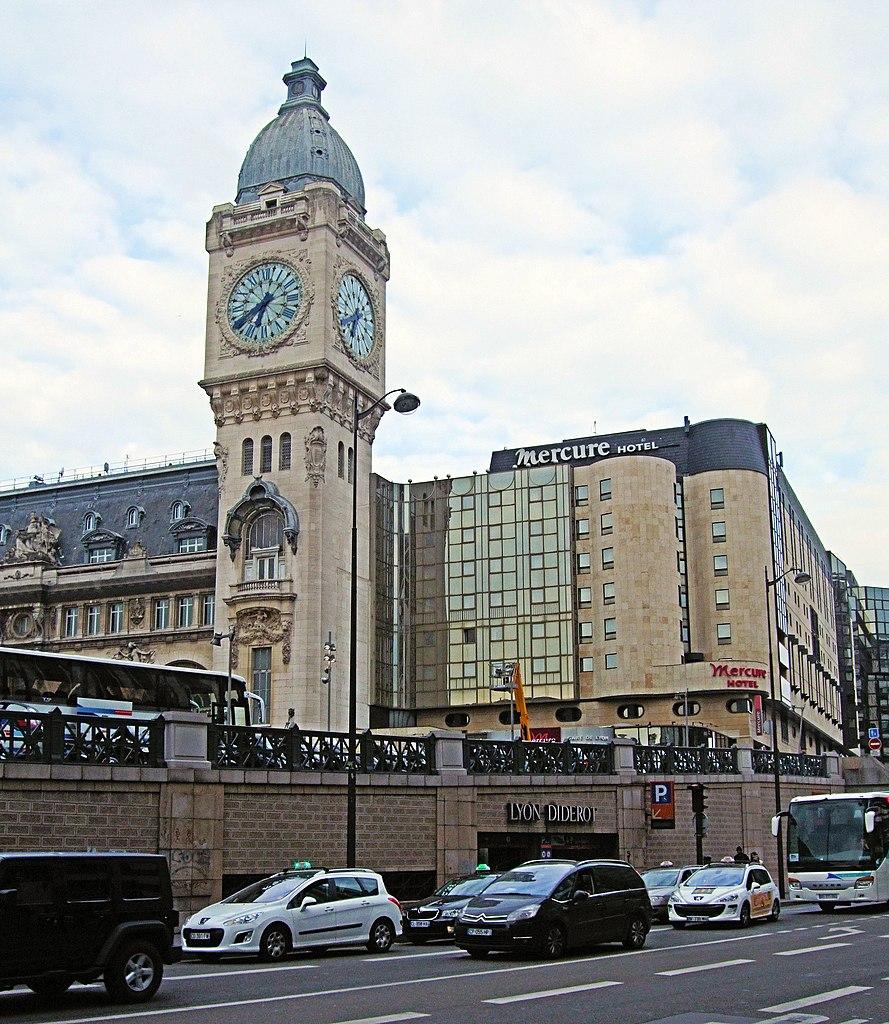 File Lh 244 Tel Mercure Paris Gare De Lyon Paris 2013 Jpg