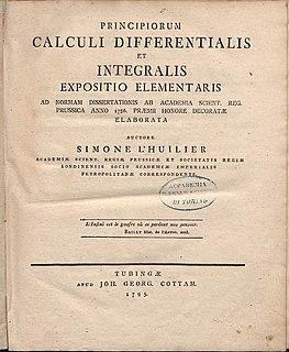 Simon Antoine Jean LHuilier Swiss mathematician