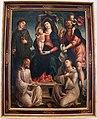 Liberale da verona, madonna in trono con santi, 1489.JPG