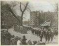 Liberty Bonds - Parades - Arizona through New Jersey - PHOTO SHOWS THE WASHINGTON Elm, Cambridge, Mass., where Gen. George Washington took command of his troops in 1775. Navy radio men are here shown passing unde(...) - NARA - 45491460.jpg