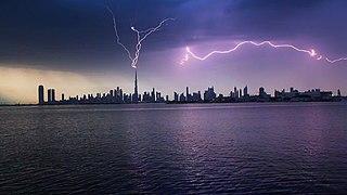 Lightning Weather phenomenon involving electrostatic discharge