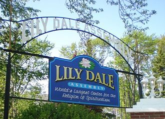 Lily Dale, New York - Image: Lily Dale Entrance