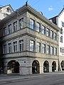 Limmatquai - Zunfthaus zur Saffran - Rathaus 2015-01-10 14-51-01 (P7800).JPG