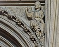 Lincoln Cathedral, Angel with raised hand (s.13) (32113256572).jpg