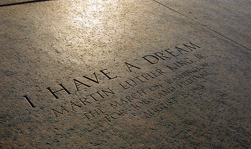Lincoln Memorial I Have a Dream Marker 2413