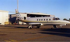 Lions Air - Lions Air IAI Astra at Perth Airport (2000).