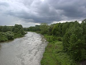 Lippe (river) - The Lippe in Lünen
