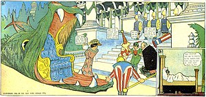 Little Nemo (1911 film) - The comic strip Little Nemo in Slumberland is considered McCay's masterpiece (July 22, 1906).