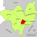 Localització de Vilar de Canes respecte de l'Alt Maestrat.png
