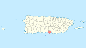 Location of Santa Isabel in Puerto Rico