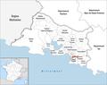 Locator map of Kanton Marseille-7.png