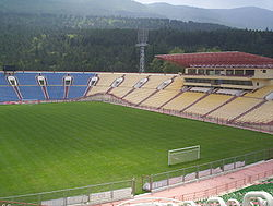 Tbilisi's Locomotive Stadium