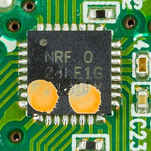 Nordic Semiconductor - Image: Logitech M210 Nordic Semiconductor n RF24LE1 2428