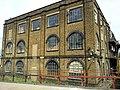 London, Woolwich Dockyard, old factory building 1.jpg