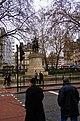 London - Grosvenor Gardens - Statue of Foch.jpg