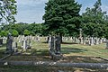 Looking E across section F - Glenwood Cemetery - 2014-09-19.jpg