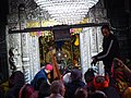 Lord Badrinath in Badrinath Temple.jpg