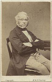 Carte De Visite Depicting Lord Palmerston 1863
