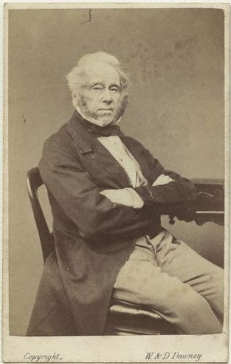 Diplomacy of the American Civil War - Lord Palmerston, pictured in 1863, was British prime minister throughout the war.