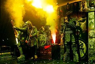Lordi Finnish hard rock band