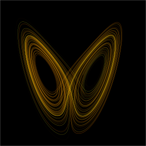 The Lorenz attractor is an example of a non-li...