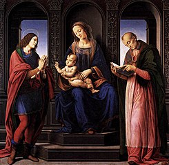 Madonna and Child with St. Julian and St. Nicholas