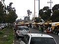 Los martes y los sábados hay un mercado en la calle División del Norte en Tlalpan, Ciudad de México.jpg